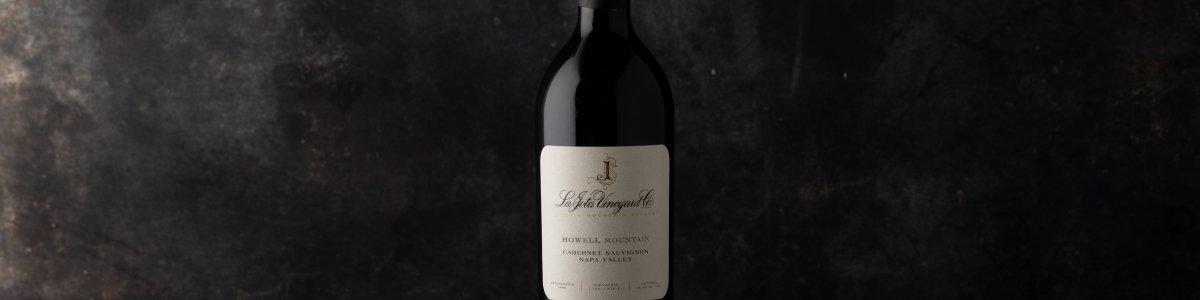 2001 La Jota Anniversary Release Cabernet Sauvignon