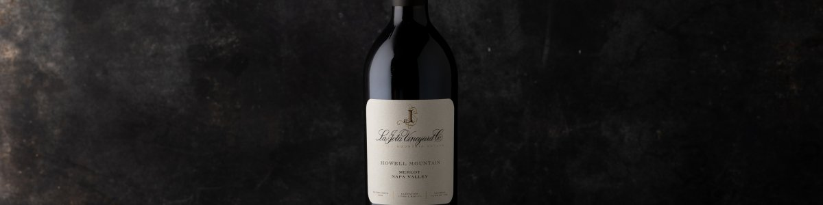 2015 La Jota Howell Mountain Merlot