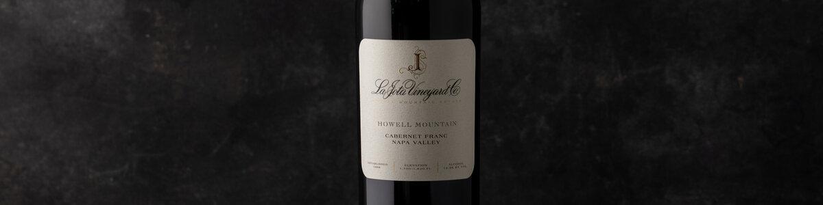 2017 La Jota Howell Mountain Cabernet Franc