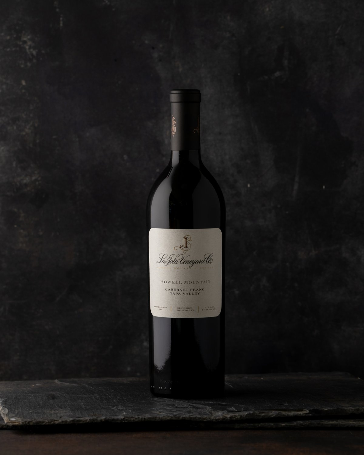 2015 La Jota Vineryard Co Howell Mountain Cabernet Franc