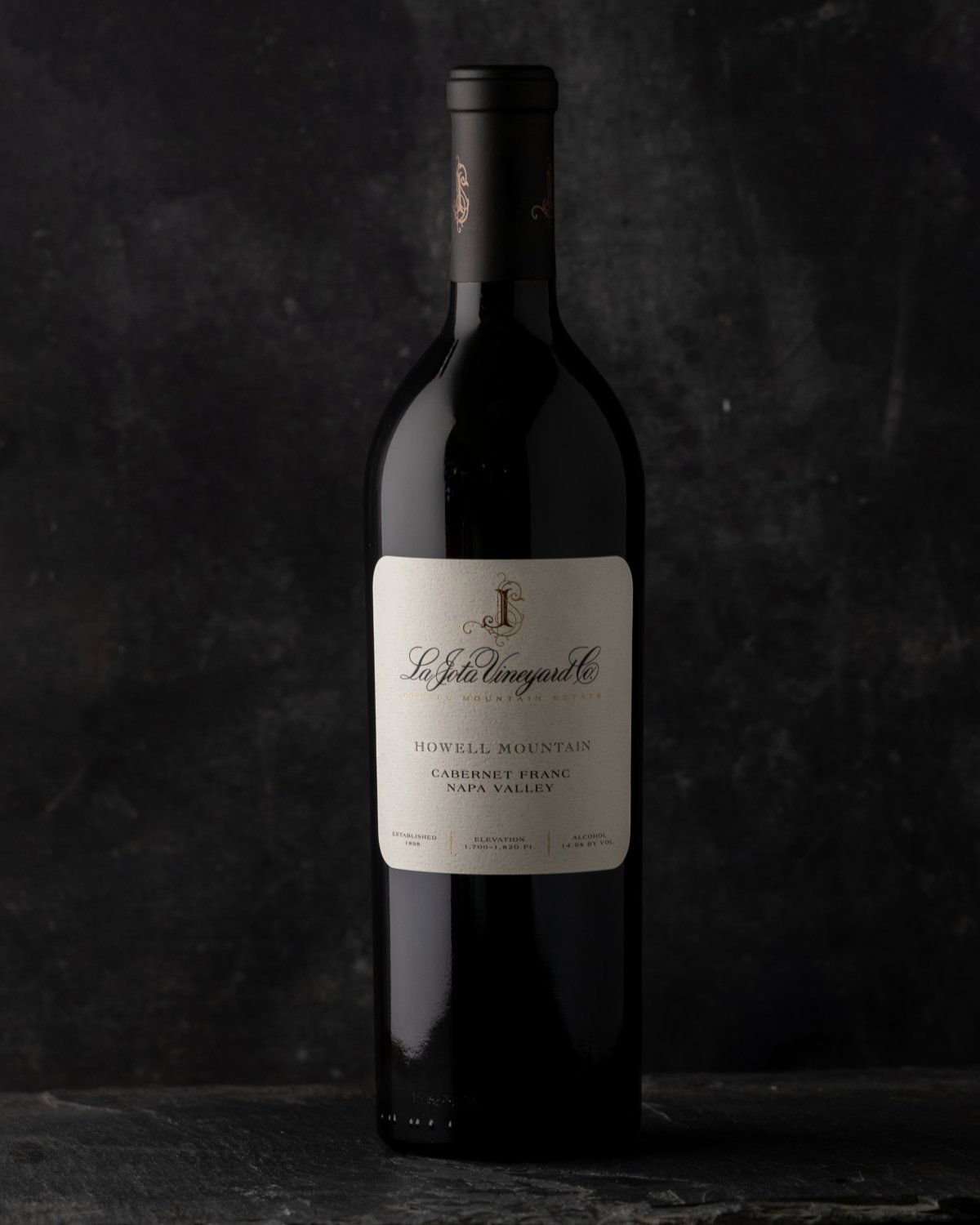 2017 La Jota Howell Mountain Cabernet Franc